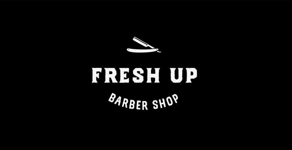 Fresh Up Barber Shop Logo@2x
