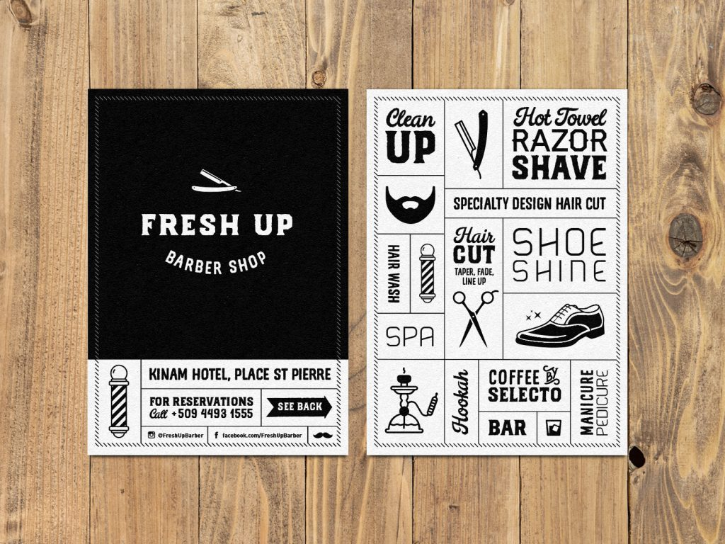 Fresh Up Flyers