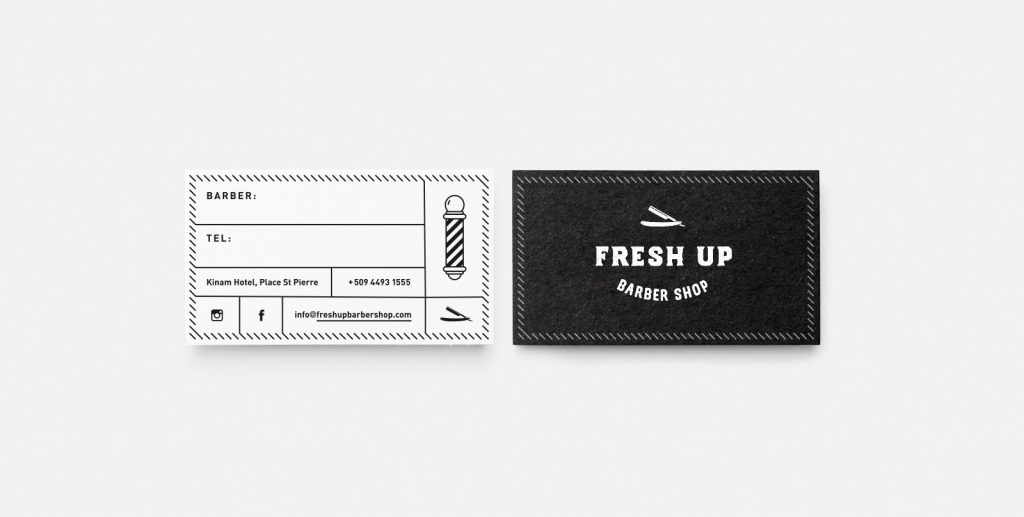 FreshUp Business Cards